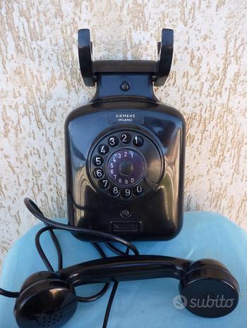 Telefono siemens milano in bakelite vintage anni 5