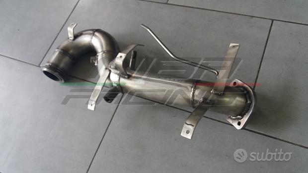 Downpipe inox tubo dpf fiat alfa lancia 2.0 mjet