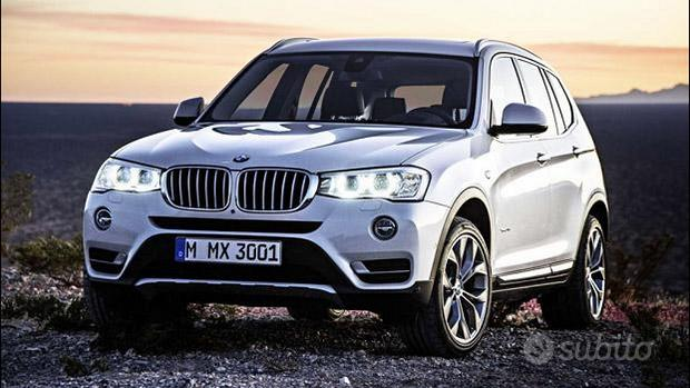BMW X3 2014-15 in ricambi