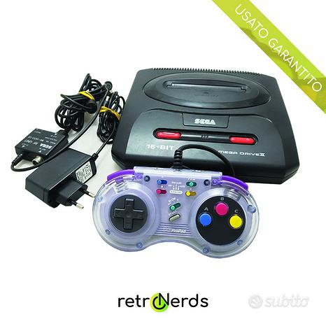Console Sega Mega Drive 2 con controller