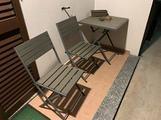 Tavolino + sedie da esterno