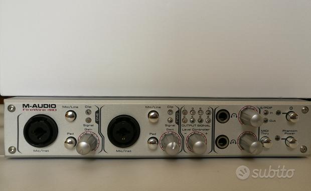 M-AUDIO 410 Firewire - SCHEDA DI REGISTRAZIONE AUD