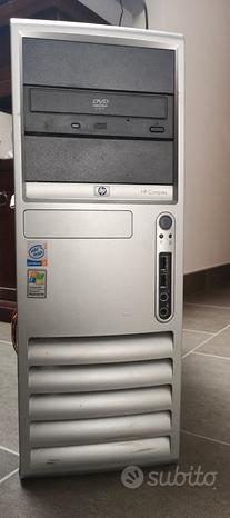 Case middle tower hp compaq dc7100 retrocomputer