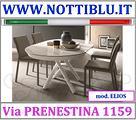 Tavolino Trasformabile Ovale A20 _ NOTTI BLU