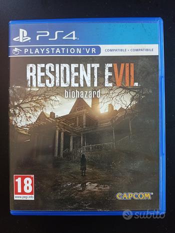 Resident evil VII biohazard ps4