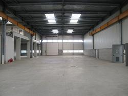 Porzione di capannone industriale con abitazione c