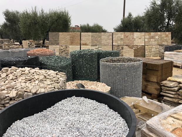 Ciottoli di pietra naturale selezionata