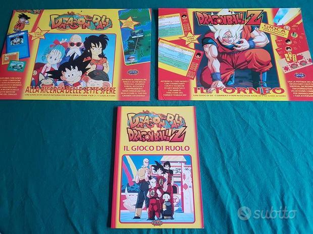 3 giochi su Dragon Ball (nuovi)