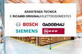Bosch Siemens Neff Gaggenau Ricambi Originali