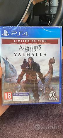 Sigillato assassin creed valhalla limited edition
