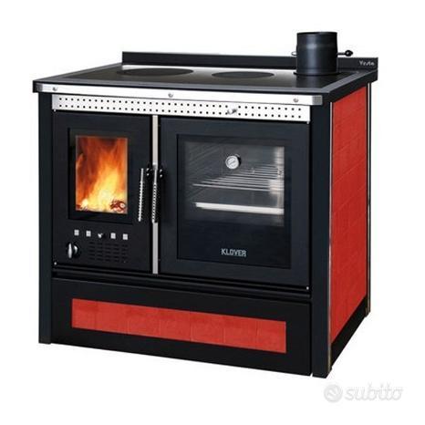Cucina a legna Vesta maiolica