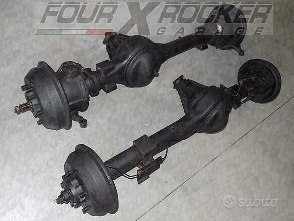 Ponte assale completo ant-post Land Rover 88