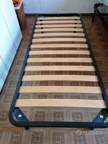 Rete doghe in legno+ materasso